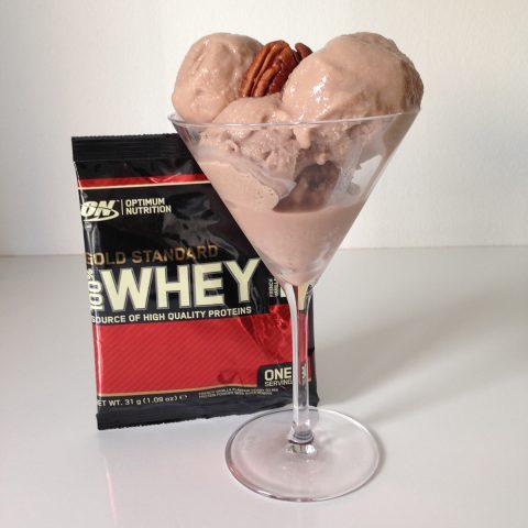 Kräver lite mer arbete – men ett fint alternativ för dig som vill proteinboosta din glass.